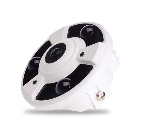 60M IR 4.0M Pixel HD Indoor 360 Deg FishEye IP Camera