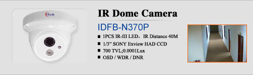 Array LED IR Dome Camera